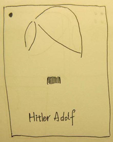 Adolf Hitler's moustache in Helsinki