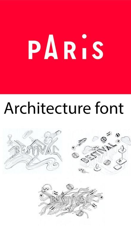 Urbanistik font