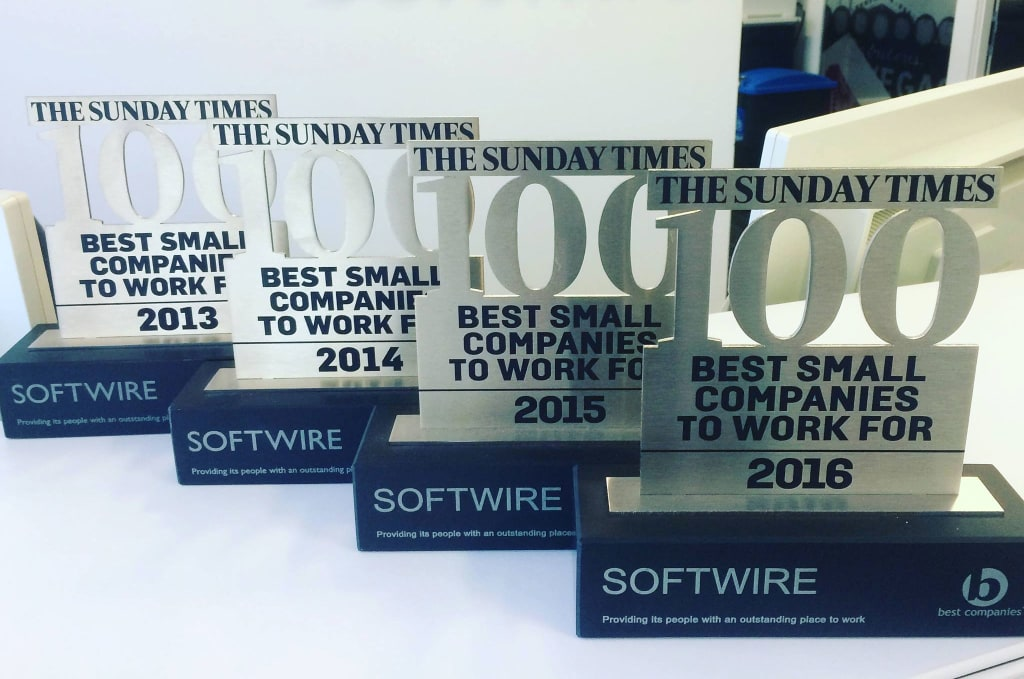 Best Small Companies to work for award
