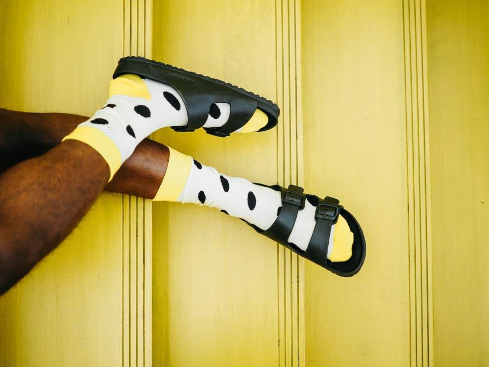 Zany socks