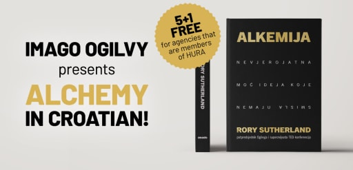 Imago Ogilvy presents new book Alchemy by Rory Sutherland