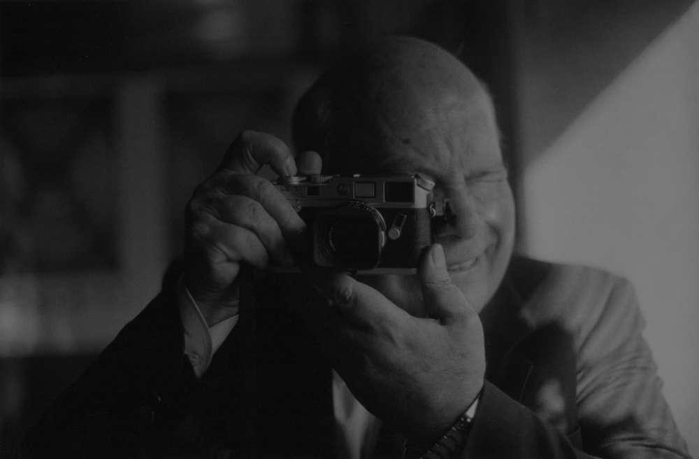 Portrait de Gabriel Cuallado par le photographe français Bernard Plossu, à Madrid, en 1994.