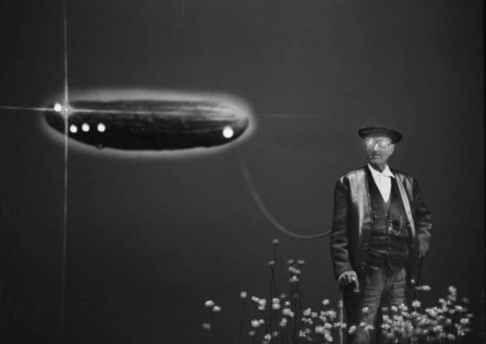 """Photo d'une exposition collective de l'oeuvre de Gabriel Cualladó, intitulée """"4 Directions de la photographie Espagnole contemporaine"""" Musée National Reina Sofia"""