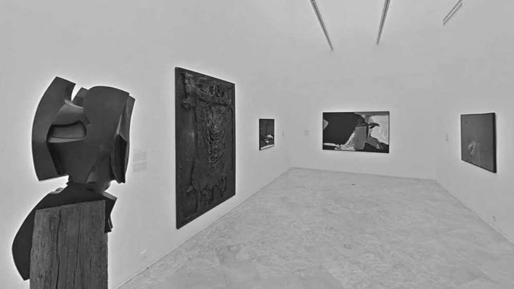 """Photo d'une exposition collective de l'oeuvre de Gabriel Cualladó, intitulée """"AFAL le groupe photographique 1956 / 1963"""" Monastère de la Cartuja CAAC"""