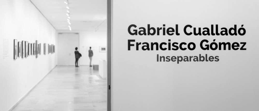 Photo d'une exposition collective de l'oeuvre de Gabriel Cualladó, intitulée Inseparables Cuallado Gómez Musée d'Art Contemporain de Valladolid Mairie de Valladolid