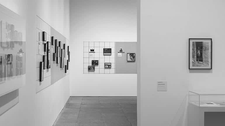"""Photo of an individual exhibition of Gabriel Cualladó's work, entitled  """"Antological exhibition of 150 photographs"""", Spanish Contemporary Art Museum"""