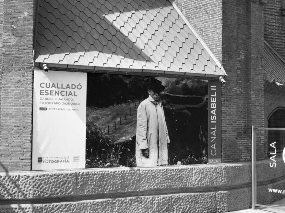 """Photo of an individual exhibition of Gabriel Cualladó's work, entitled  """"Cuallado Esencial"""", Comunidad de Madrid"""