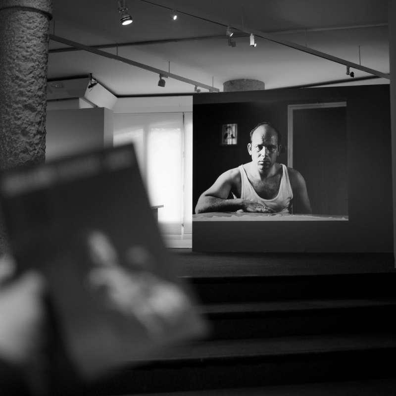"""Photo of an individual exhibition of Gabriel Cualladó's work, entitled  """"Cuallado Esencial"""", La Pedrera"""