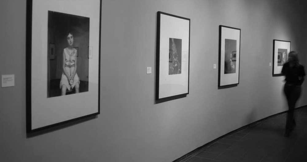 "Photo of an individual exhibition of Gabriel Cualladó's work, entitled  ""Tribute to Gabriel Cuallado"", IVAM"