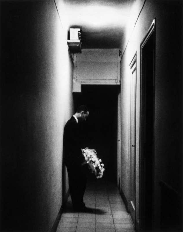 Photo en noir et blanc de Gabriel Cuallado, intitulée Miserachs (au quotidien)