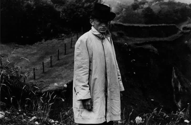 Foto en blanco y negro de Gabriel Cuallado, titulada Pepe Luis (El fitu) (Asturias)