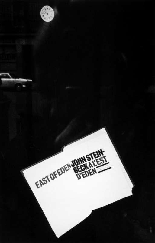 Black and white photo of Gabriel Cuallado, entitled East of Eden (Paris)