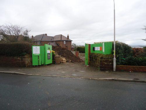 Demolition in Liverpool