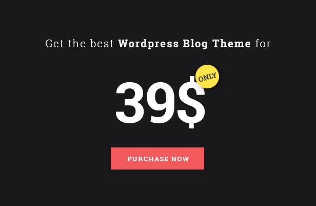 Africa - WordPress Blog Theme - 4