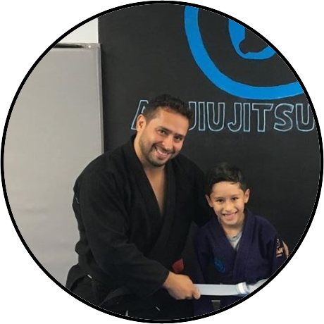 Alex Castro Morning Class Jiu-Jitsu Instructor