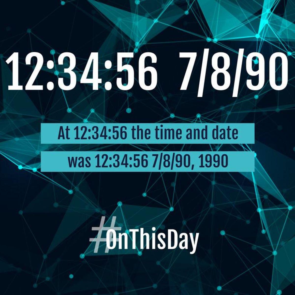 Date - 12:34:56 - 07/08/09