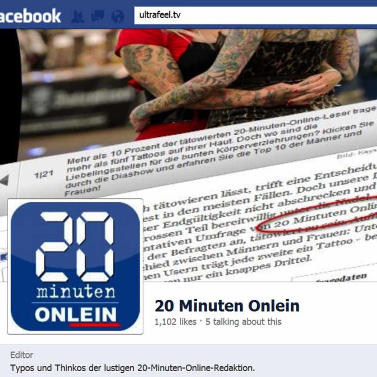 20 Minuten Onlein Online
