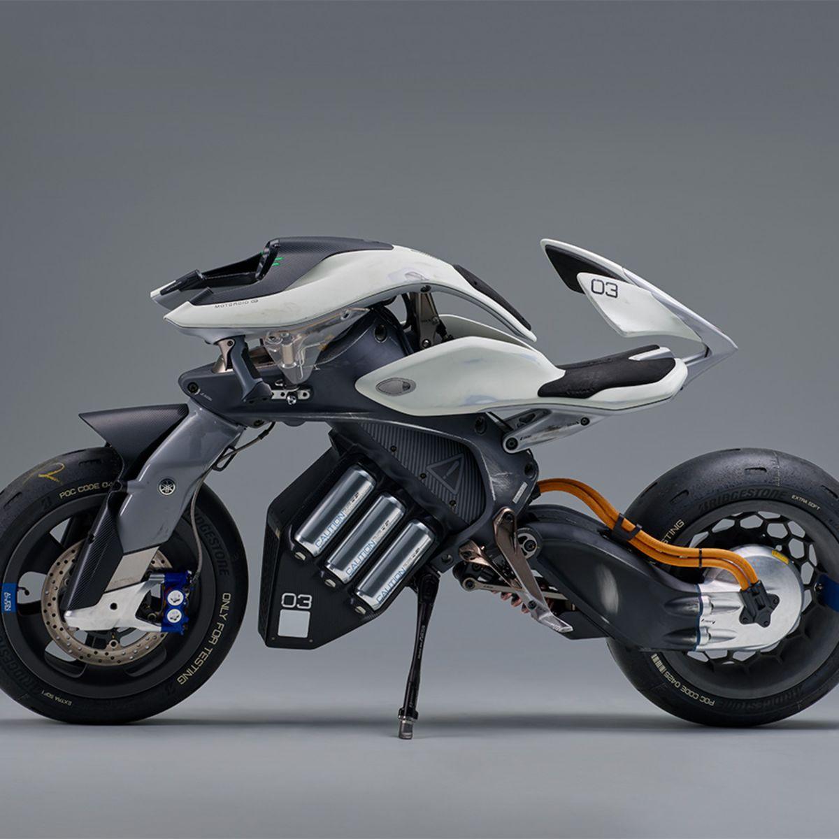 MOTOROiD: Yamaha concept bike