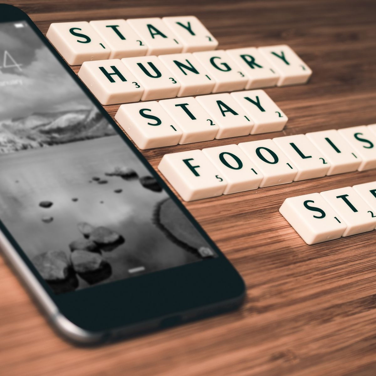 iPhone, Steve Jobs, Apple, Stay hungry, Stay foolish