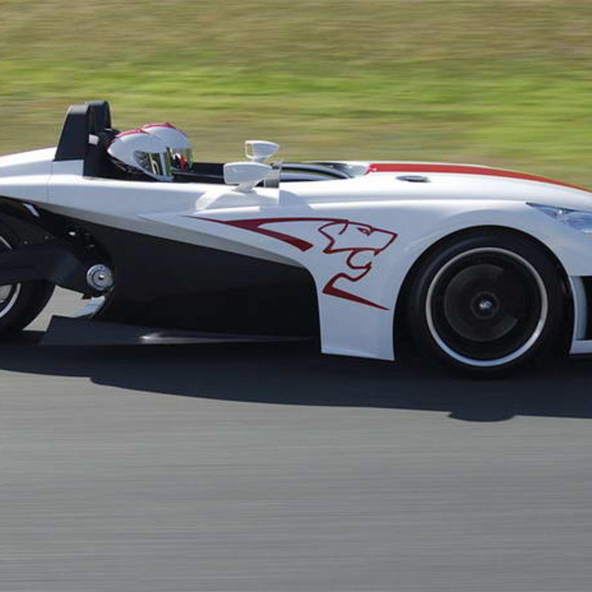 20Cup: Peugeot 3-wheel concept car