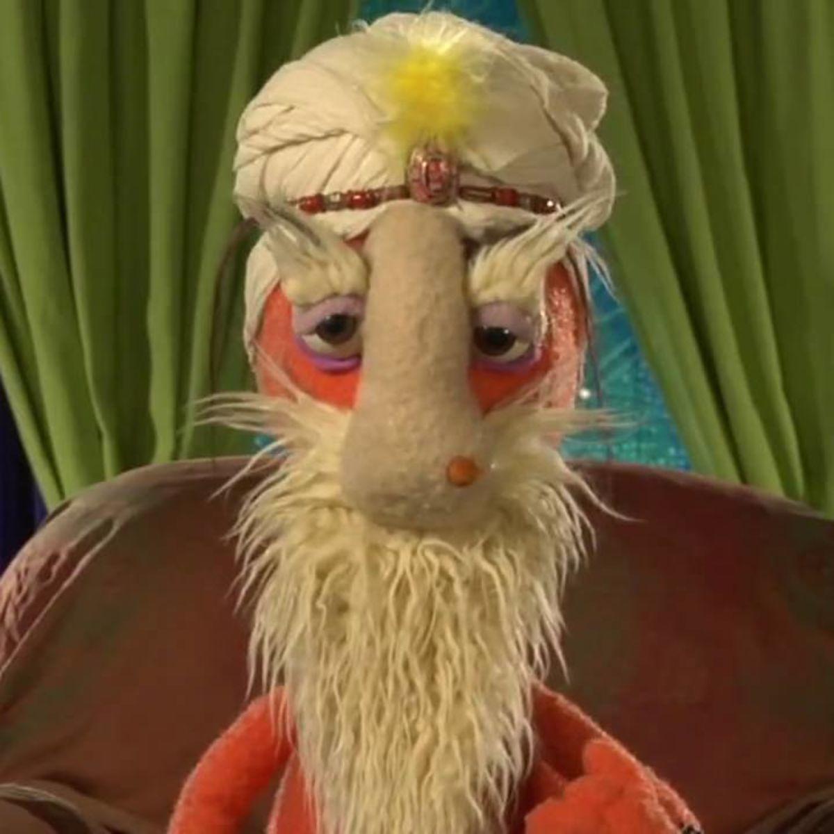 Puppetji: funny puppet guru