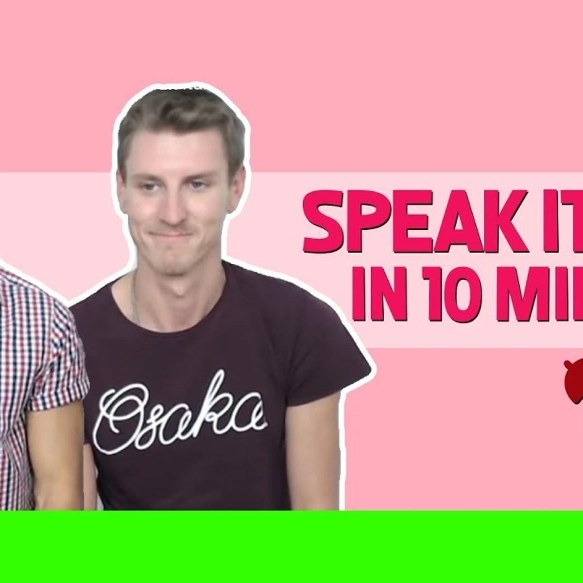 Speak Italian in 10 minutes