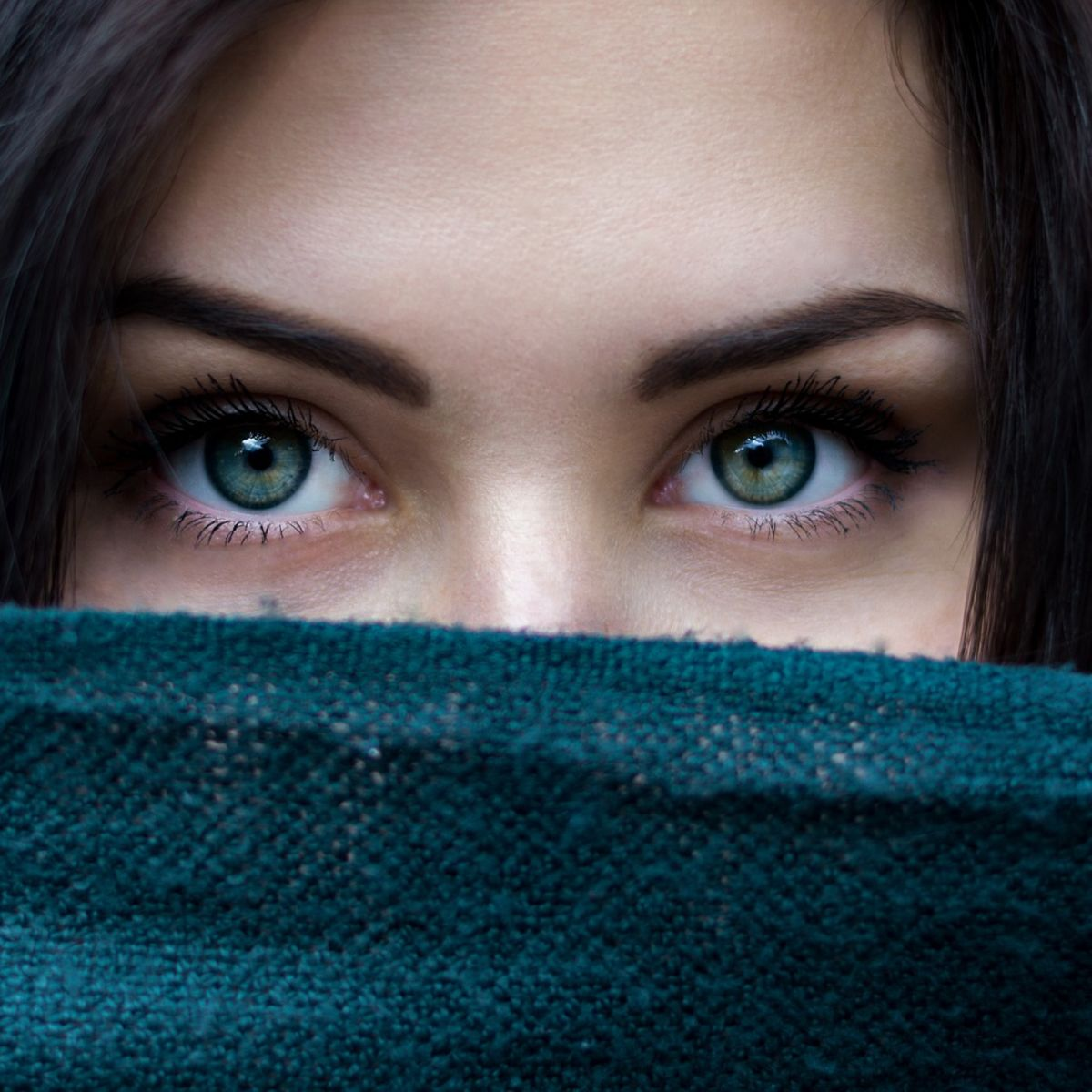 Beautiful and mysterious eyes