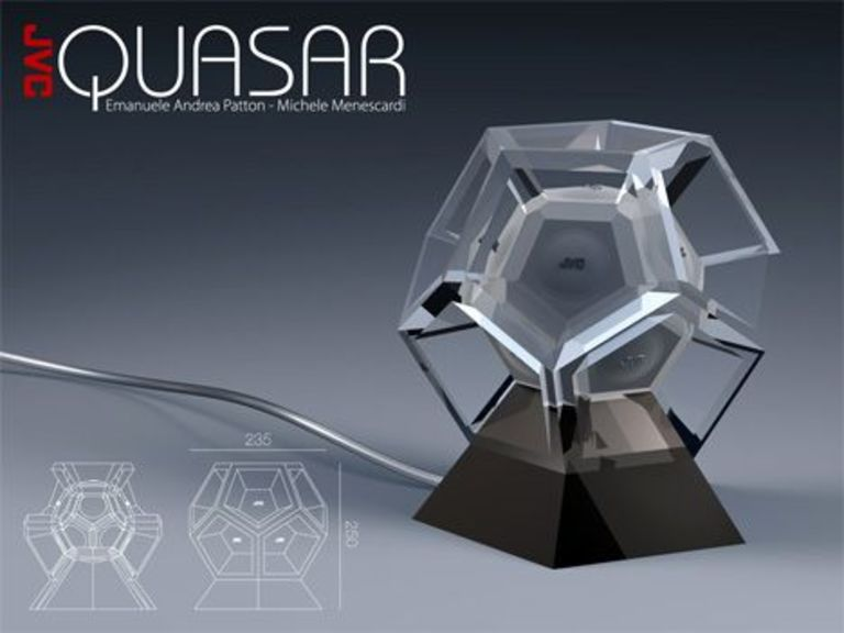 Quasar: Dodecahedron speaker by JVC