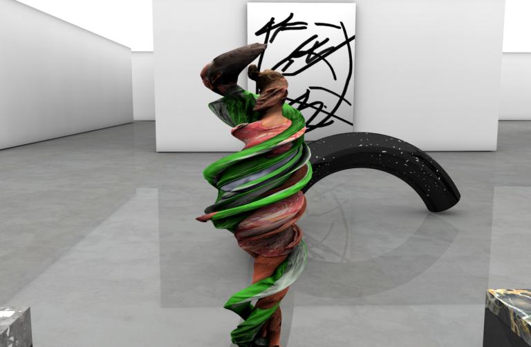 Jack Featherstone graphic art installation