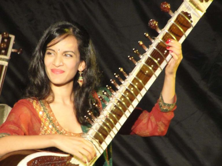 Anoushka Shankar playing Sitar