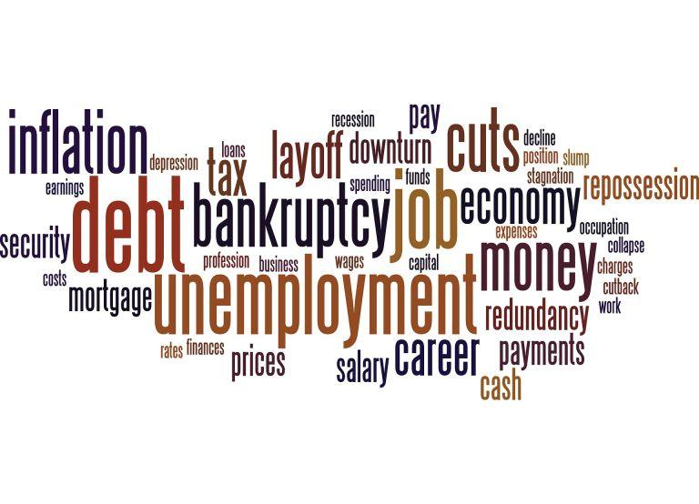 Bad News: Unemployment, inflation, debt