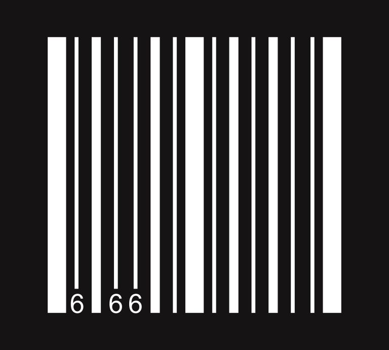 Number of the beast: 666 on barcode