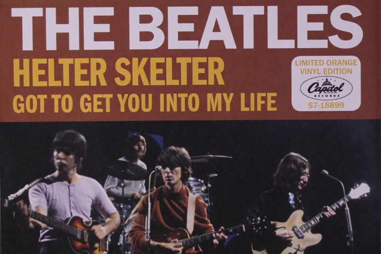 Helter Skelter - The Beatles - single cover