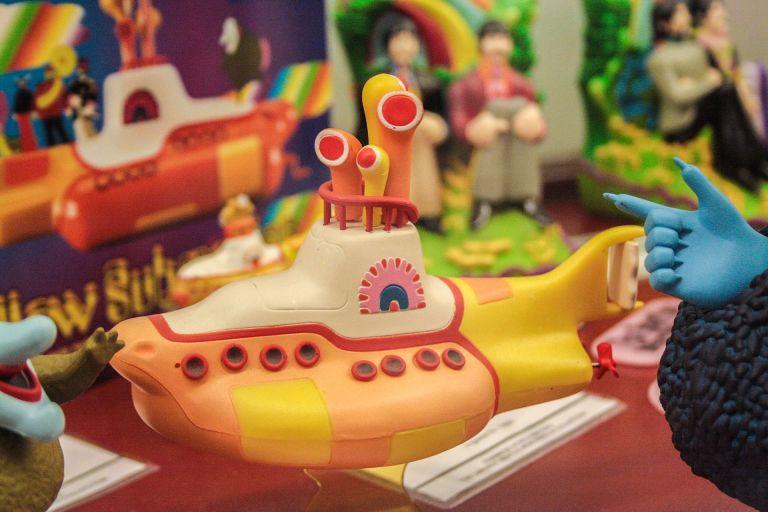Yellow Submarine, toys, The Beatles