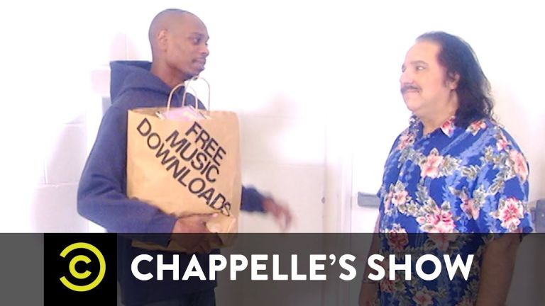 David Chappelle and Ron Jeremy - internet porn video screenshot