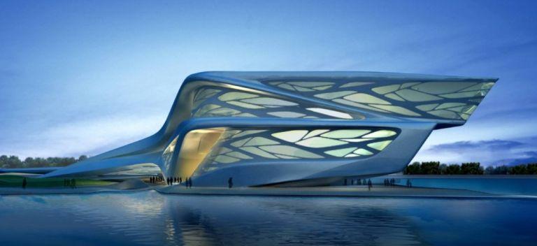 Dubai Opera House: Organic futuristic design by Zaha Hadid