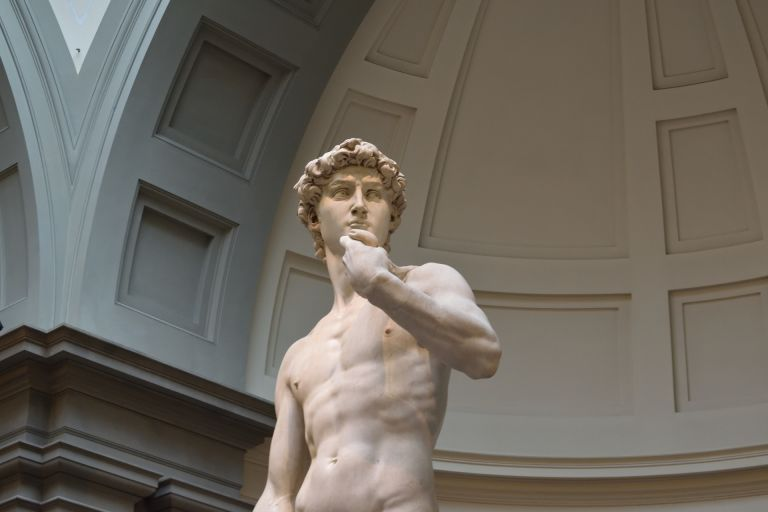 David statue by Michelangelo in Florence