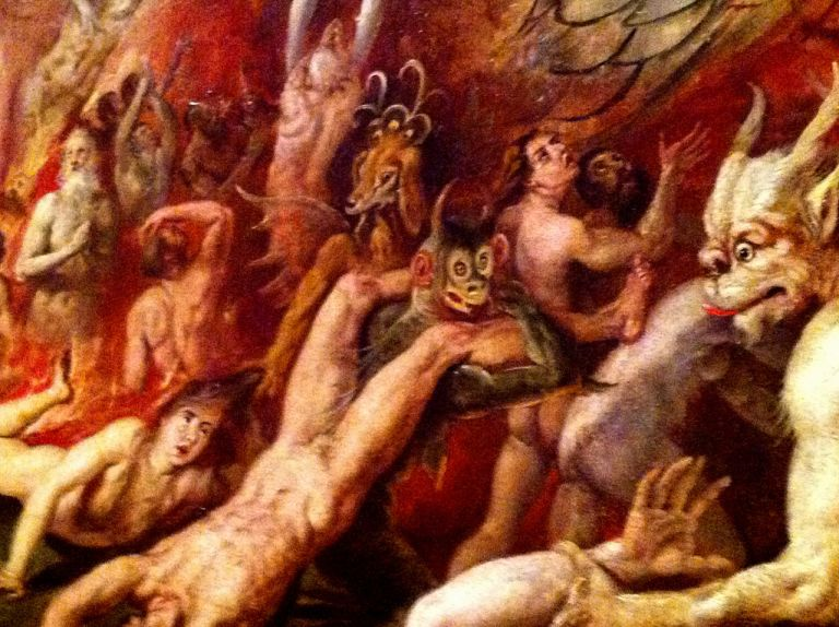 Fun party in hell (Museo de Bellas Artes de Sevilla)