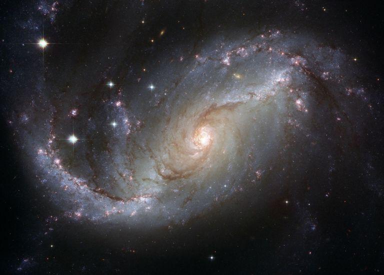 Spiral Galaxy Stars