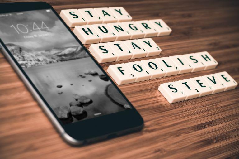 iPhone, Steve Jobs, Apple, Stay hungry, Stay foolish