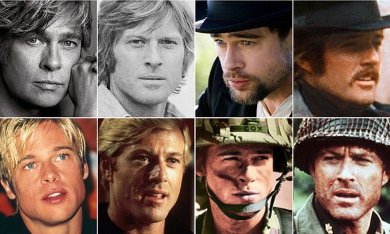 Robert Redford and Bratt Pitt