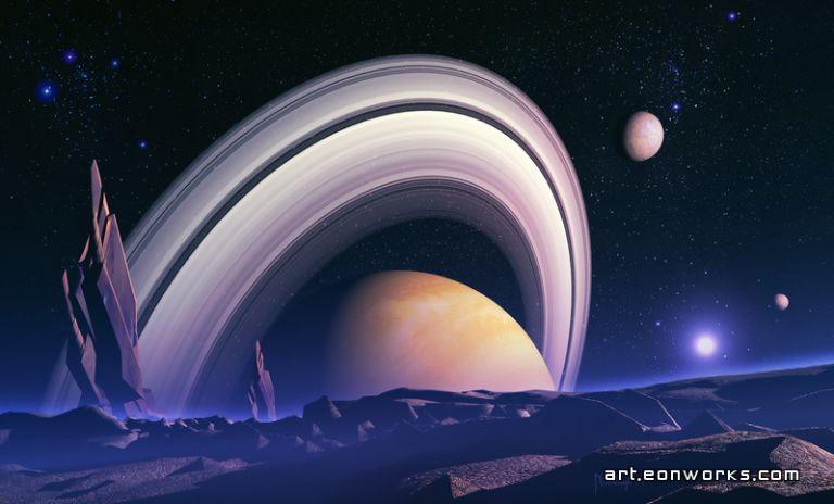 Science Fiction Space Art By Dawid Michalczyk