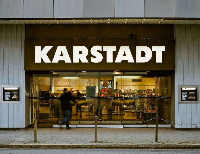 Karstadt shopping zentrum eingang