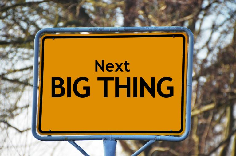 Yellow sign: The next big thing