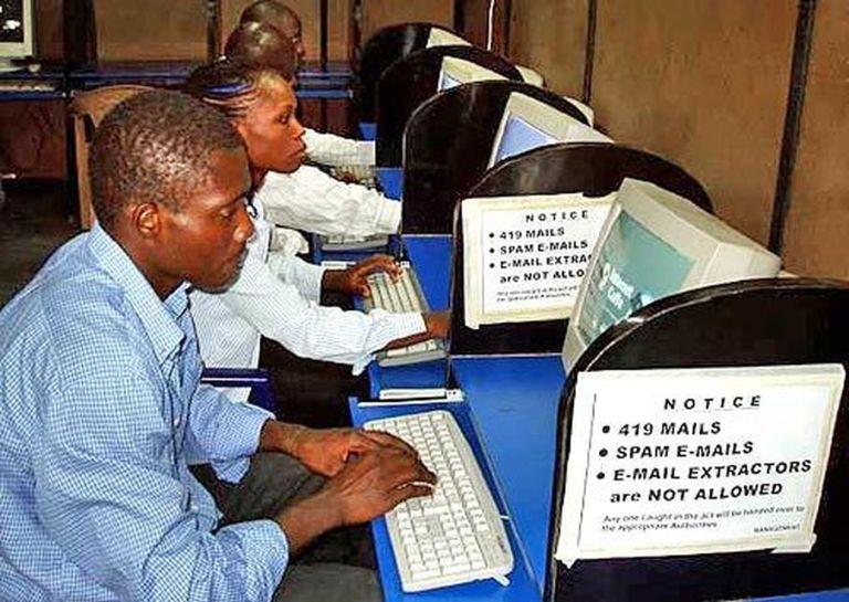 Nigeria Spam in Africa - Internet, Cybercafe