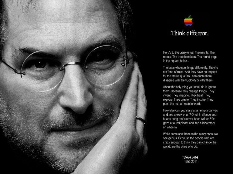Steve Jobs: Crazy, Misfits, Rebel, Troublemaker - poem