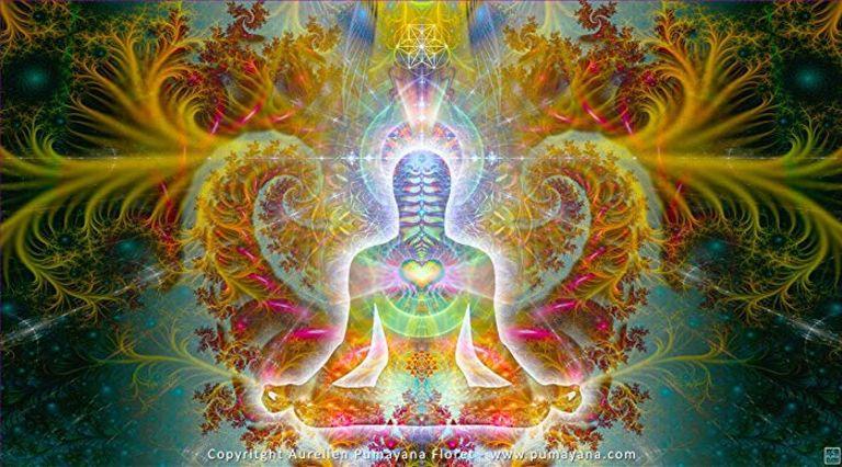 Luminaya - Visionary Art - Heart Soul - Psychedelic, Meditation