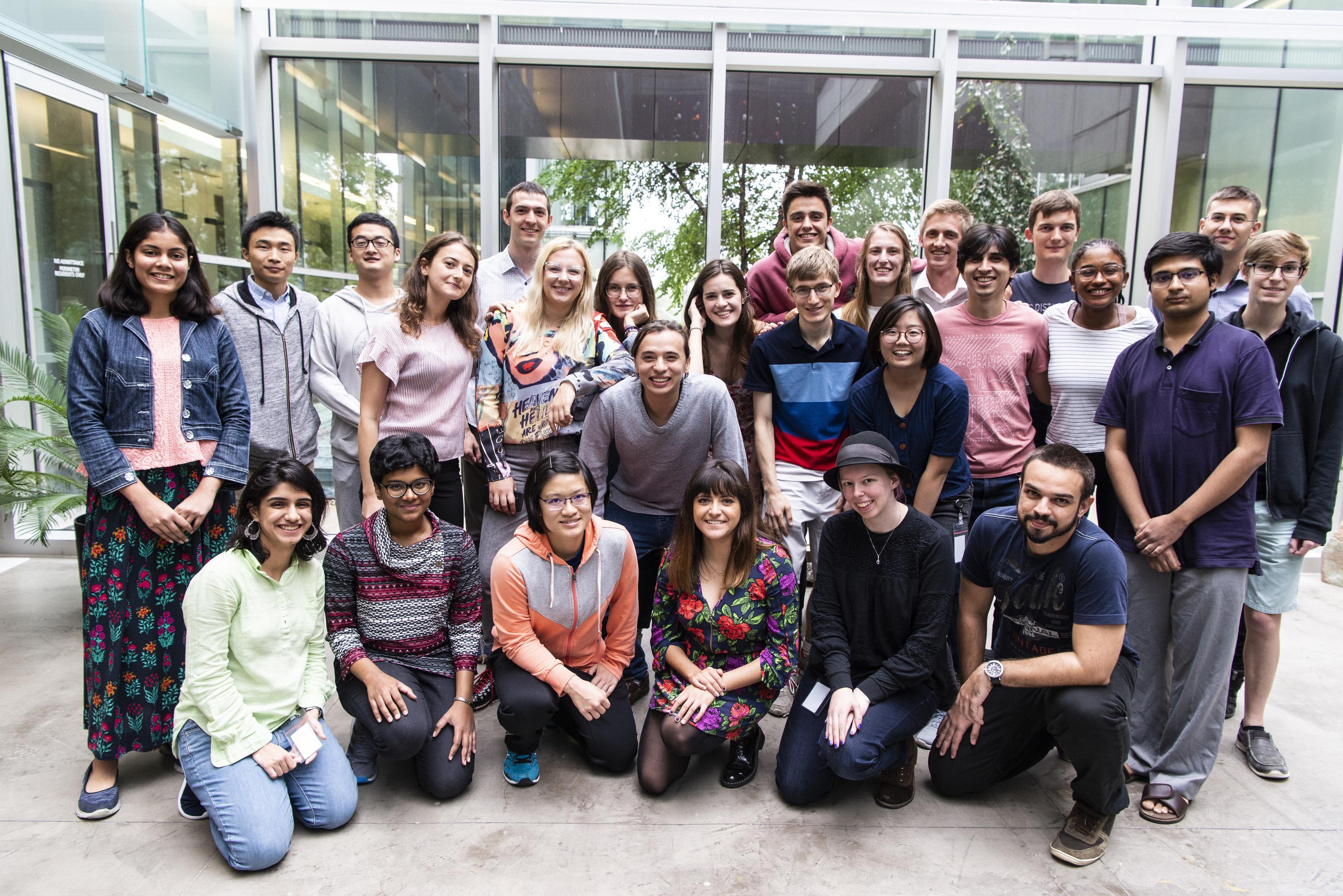 Perimeter Scholars International Class of 2019-2020