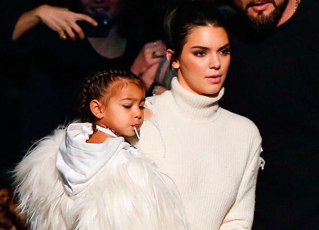Мнение Кендалл Дженнер: Норт Уэст – самый стильный ребенок в семье