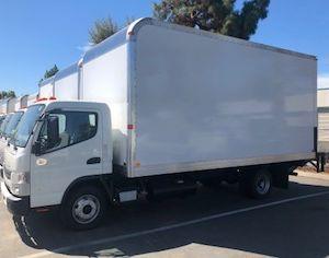 2017 Mitsubishi Fuso Box Truck